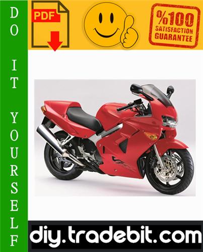 Thumbnail Honda VFR800FI Interceptor Motorcycle Service Repair Manual 1998-2001 Download