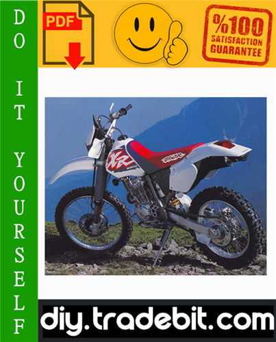 Thumbnail Honda XR250R Motorcycle Service Repair Manual 1996-2004 Download