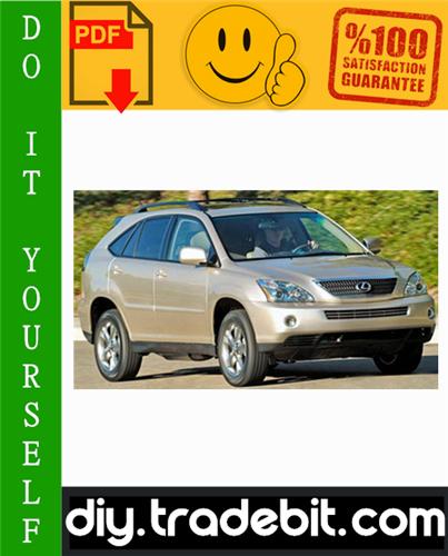Thumbnail 2006 Lexus RX400H Service Repair Manual Download