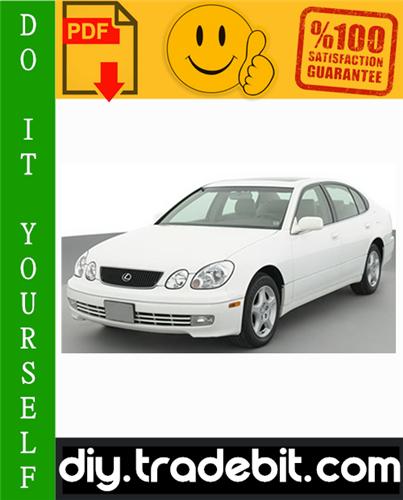 Thumbnail Lexus GS300 / GS430 Service Repair Manual 1998-2005 Download