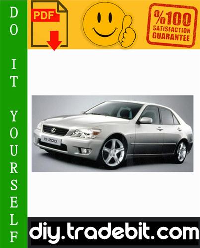 Thumbnail Lexus IS200 Service Repair Manual 1998-2005 Download